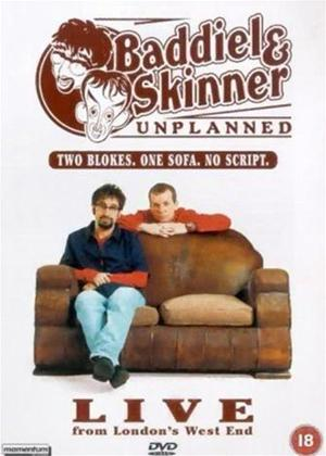 Rent Baddiel and Skinner: Unplanned: Live from London's West End Online DVD Rental