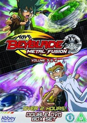Rent Beyblade: Metal Fusion: Volumes 3 and 4 Online DVD & Blu-ray Rental