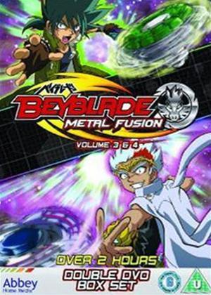 Rent Beyblade: Metal Fusion: Volumes 3 and 4 Online DVD Rental