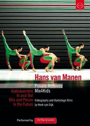 Rent Hans Van Manen: Private Archives Online DVD Rental