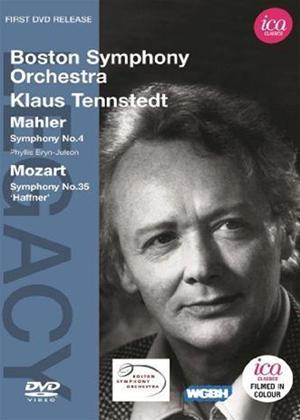 Rent Mahler: Symphony No. 4/Mozart: Symphony No. 35 (Tennstedt) Online DVD Rental