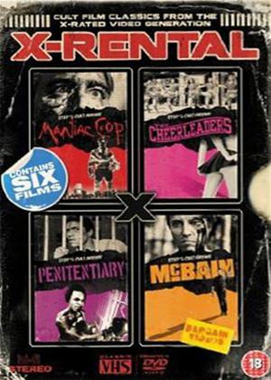 Rent X-rental: Cult Film Classics from the X-rated Video Generation Online DVD Rental