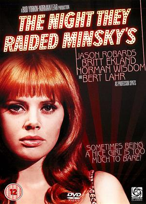 Rent The Night They Raided Minsky's Online DVD Rental