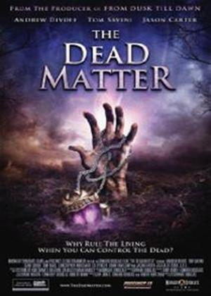 Rent The Dead Matter Online DVD Rental