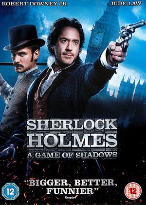 Rent Sherlock Holmes: A Game of Shadows Online DVD & Blu-ray Rental