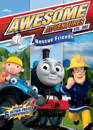 Rent Awesome Adventures: Favourite Friends Online DVD Rental