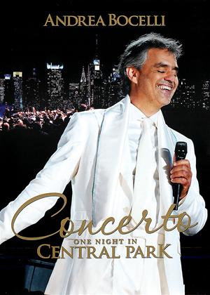 Rent Andrea Bocelli: One Night in Central Park: Concerto Online DVD Rental