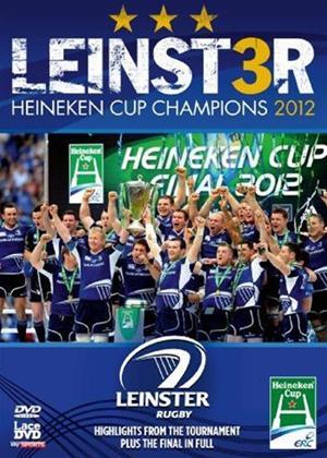 Rent Leinster Rugby: Heineken Cup Champions 2012 Online DVD Rental