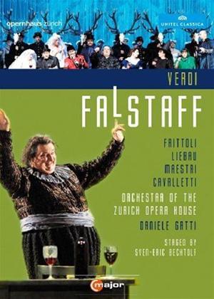 Rent Falstaff: Zurich Opera House (Gatti) Online DVD Rental