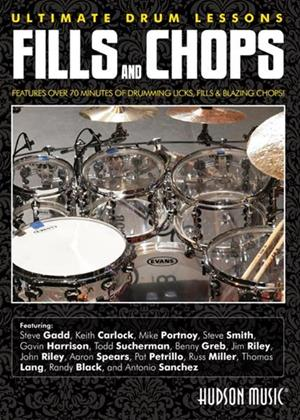 Rent Ultimate Drum Lessons: Fills and Chops Online DVD Rental