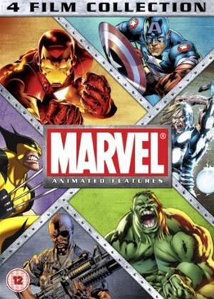 Rent Marvel Animation: 4 Film Collection Online DVD Rental