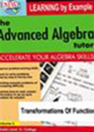 Rent The Advanced Algebra Tutor: Transformations of Functions Online DVD Rental