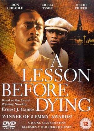 Rent A Lesson Before Dying Online DVD & Blu-ray Rental