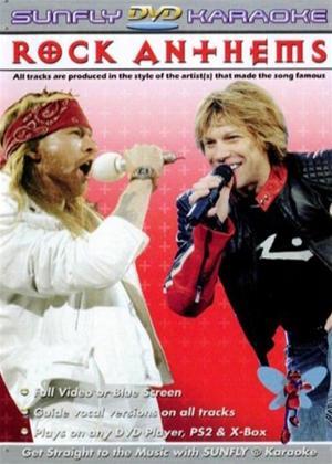 Rent Sunfly Karaoke: Rock Anthems: Vol.1 Online DVD Rental