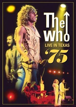 Rent The Who: Live in Texas '75 (aka The Who: Live in Houston, Texas) Online DVD Rental