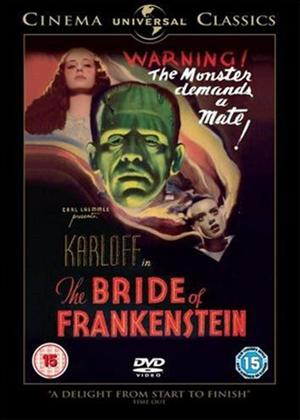 Rent The Bride of Frankenstein Online DVD Rental