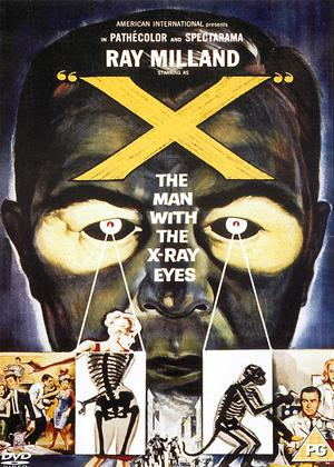 """Rent """"X"""": The Man with The X-Ray Eyes Online DVD Rental"""