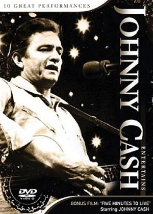Rent Johnny Cash Entertains Online DVD Rental