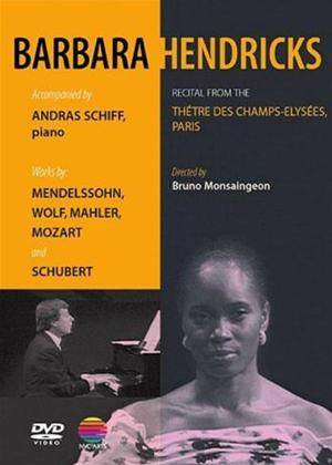 Rent Barbara Hendricks: Recital from the Champs Elysees Online DVD Rental