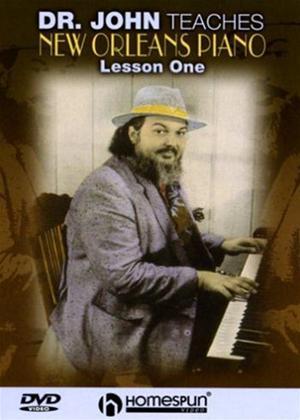 Rent Doctor John Teaches New Orleans Piano: Vol.1 Online DVD Rental