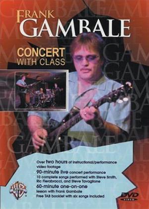 Rent Frank Gambale: Concert with Class Online DVD Rental
