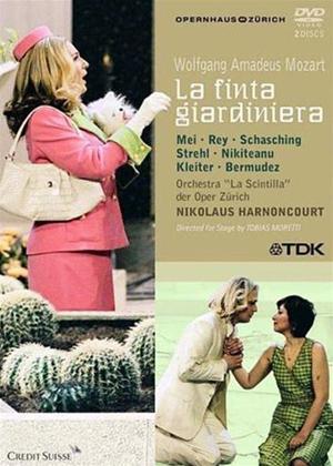 Rent La Finta Giardiniera: Zurich Opera House (Harnoncourt) Online DVD Rental