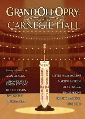 Rent Grand Ole Opry at Carnegie Hall: Various Artists Online DVD Rental
