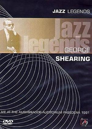 Rent Jazz Legends: George Shearing Online DVD Rental