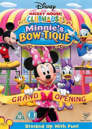 Rent Mickey Mouse Clubhouse: Minnie's Bow-Tique Online DVD Rental