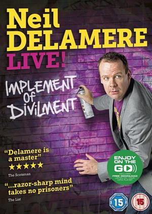Rent Neil Delamere: Implement of Divilment Online DVD Rental