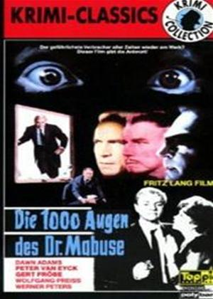 Rent The Thousand Eyes of Doctor Mabuse (aka Die 1000 Augen des Dr. Mabuse) Online DVD Rental