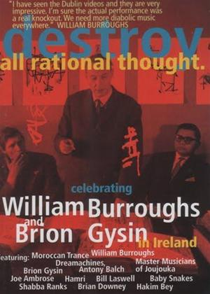 Rent William S. Burroughs: Destroy All Rational Thought Online DVD Rental