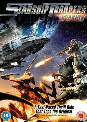 Starship Troopers: Invasion Online DVD Rental