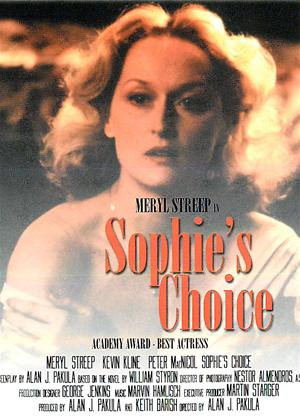 Rent Sophie's Choice Online DVD Rental