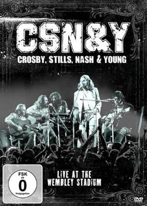 Rent Crosby, Stills, Nash and Young: Live at the Wembley Stadium Online DVD Rental