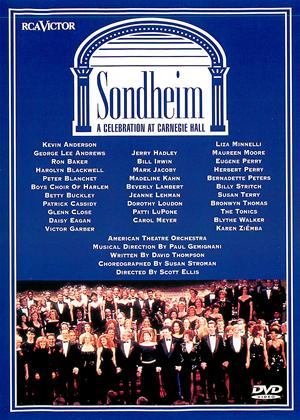 Rent Sondheim: A Celebration at Carnegie Hall Online DVD Rental