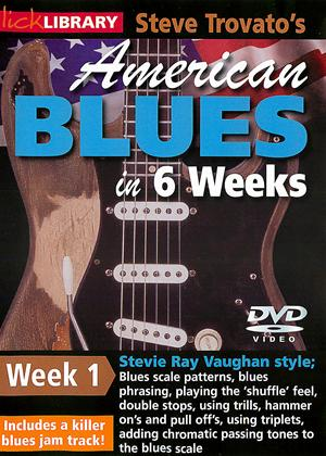 Rent American Blues Guitar in 6 Weeks: Week 1 - Stevie Ray Vaughan Online DVD Rental