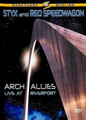 Rent Styx and Reo Speedwagon: Arch Allies: Live at Riverport Online DVD Rental