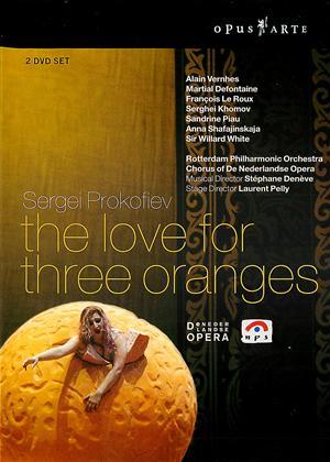 Rent Prokofiev: The Love for Three Oranges (aka L'amour des trois oranges) Online DVD Rental