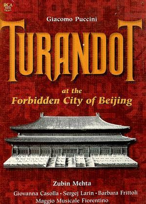 Rent Turandot at the Forbidden City of Beijing Online DVD Rental