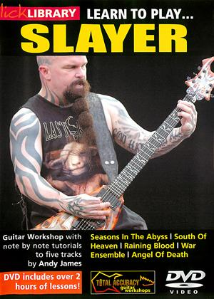 Rent Lick Library: Learn to Play Slayer Online DVD Rental