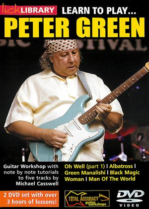Rent Lick Library: Learn to Play Peter Green Online DVD Rental