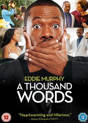 Rent A Thousand Words Online DVD & Blu-ray Rental