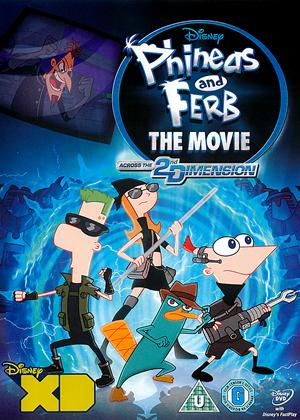 Rent Phineas and Ferb - The Movie: Across the 2nd Dimension Online DVD Rental