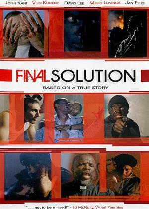 Rent Final Solution Online DVD Rental