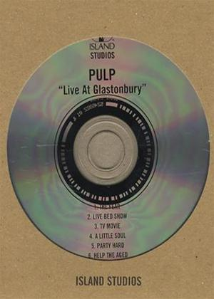 Rent Pulp: Glastonbury Live Online DVD Rental