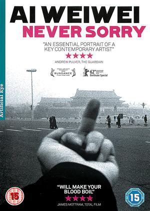 Rent Ai Weiwei: Never Sorry Online DVD Rental