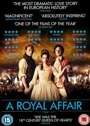 Rent A Royal Affair (aka En Kongelig Affære) Online DVD Rental