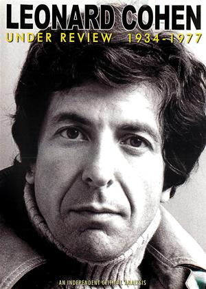 Rent Leonard Cohen: Under Review 1934-1977 Online DVD Rental