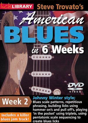 Rent American Blues Guitar in 6 Weeks: Week 2 - Johnny Winter Online DVD Rental
